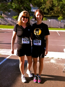 Mother and daughter running team!