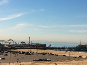 Start of run - Santa Monica Pier